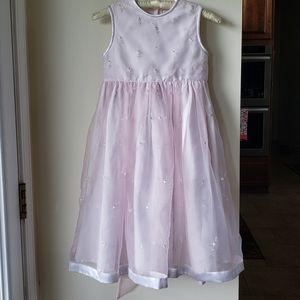Strasburg Pink Party Formal Dress Girls 6